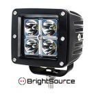 "Brightsource Light Bar 3"" LED With Harness Spot Pair"
